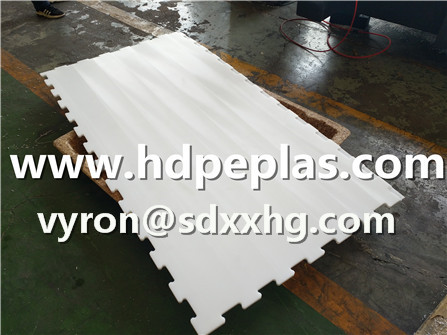 New design for synthetic ice panel