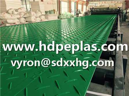 Green protection mats, HDPE Rig mats