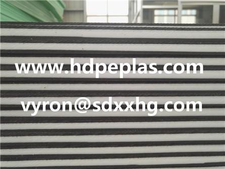 Dual color HDPE sheet,three layer HDPE SHEET
