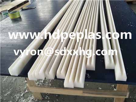 HDPE/PP/UHMWPE wear srips, can CNC by your drawing.