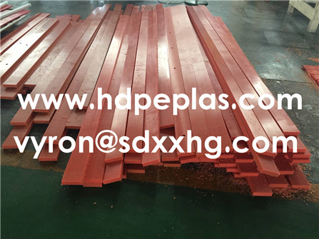 Machined PE Strip from HDPE Sheet