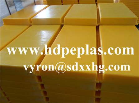 Yellow Dock bumper/UHMWPE plastic Dock bumper plates manufacturer