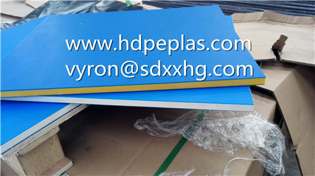 Hdpe Polyethylene Double Color Sheet/3 Layer Virgin Hdpe Sheet