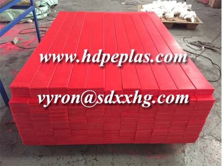 UHMWPE and HDPE high wear resistance strips