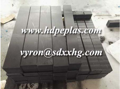 50x50x50mm thickness UHMWPE square wear strips