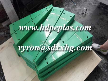 UHMW Plastic and Low Friction Coefficient Properties strips