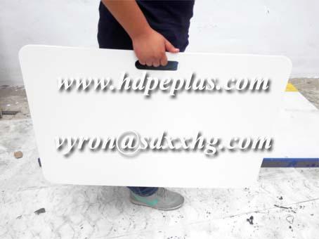 plastic HDPE hockey shooting pads