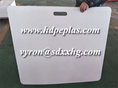 plastic HDPE hockey shooting pads