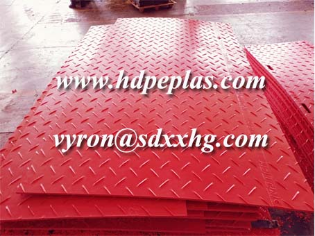 Customized color and size ground protection mats