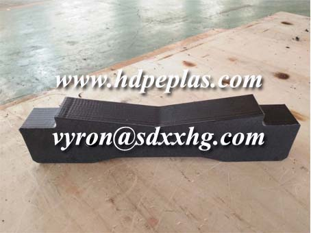 CNC machining UHMWPE/HDPE wear part by drawing.