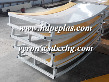 two-double steel frame structure dasher board