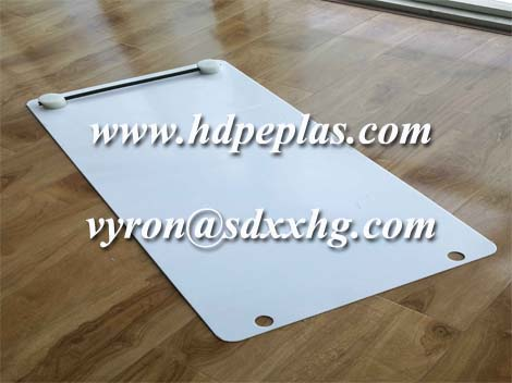 HDPE portable hockey shooting pad with rebound passer
