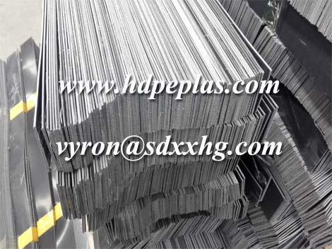 2mm thickness HDPE wear strips with film protection
