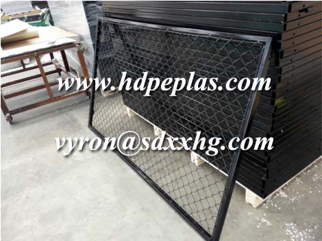 plastic coating wire mesh fence direct supplier without clutter cost