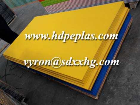 HDPE PE single color orange peel surface sheet,anti-UV character