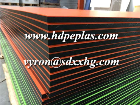 HDPE Sheet with Sandwich Colours by Recycled Plastic