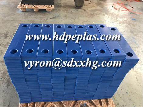 UHMWPE/HDPE wear block, wear strips