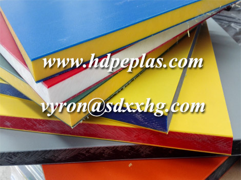 extruded polyethylene sheets for children playground