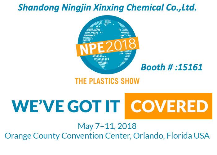 NPE2018 PLASTIC SHOW in Orlando, Florida USA