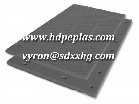 hollow HDPE ground protection mats