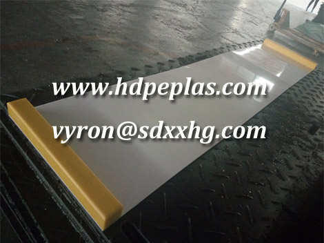 HDPE hockey Slide board