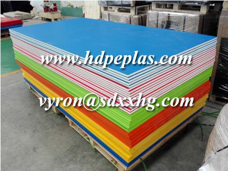 Best selling texture surface hdpe panel