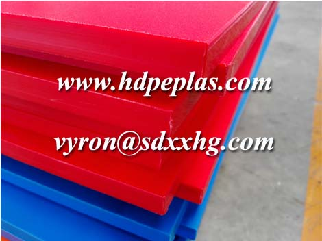 Single color textured hdpe sheet