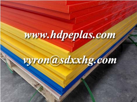 Tricolor HDPE SHEET