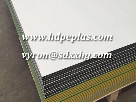 hdpe sheet with textured orange peel