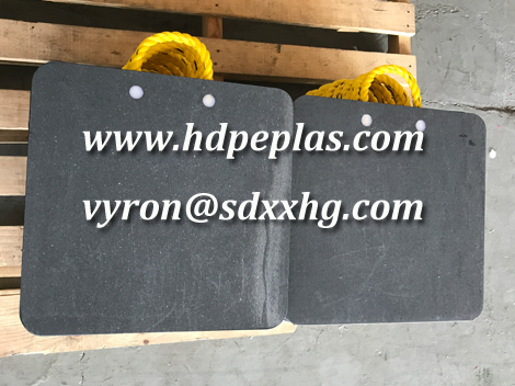 Customized uhmwpe crane outrigger pad