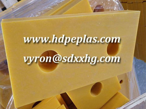 Rubber and UHMWPE Dock Bumper