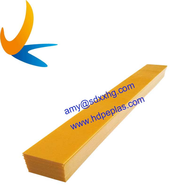 Various colors and shapes of hdpe board